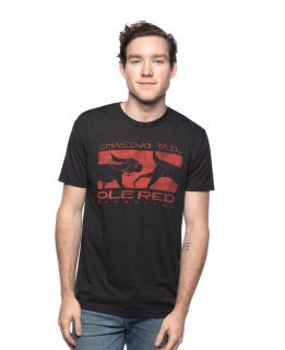 Ole Red Nashville Unisex Black Chasing Tail Tee