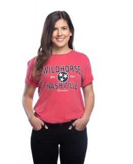 Wildhorse Red Tennessee Tri-Star Tee