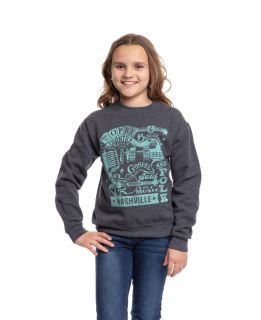 Grand Ole Opry Youth Country Music Sweatshirt