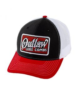 Luke Combs Outlaw Patch Hat