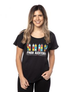 Ryman Womens Colorful Windows Tee