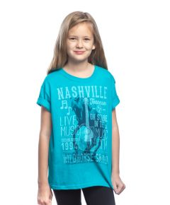 Wildhorse Kids Music Poster Tee