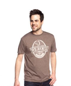 Wildhorse Unisex Distressed Beer Label Tee