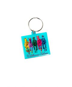 Wildhorse Colorful Horse Keychain