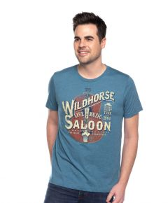 Wildhorse Unisex Orange Guitar Tee