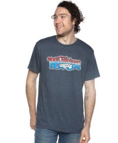 Wildhorse Red White and Blue Script Tee