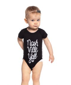 Wildhorse Nashville Y'all Onesie