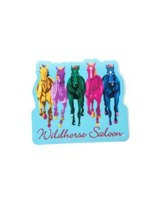 Wildhorse Colorful Horse Decal