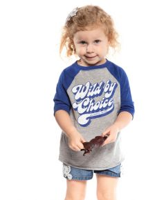 Wildhorse Toddler Wild By Choice Raglan