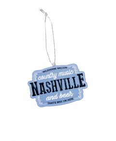 Wildhorse Country Music and Beer Nashville Ornament